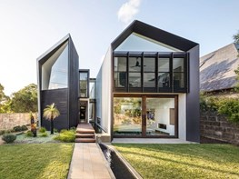 Interesting shapes and passive design in this unique Sydney home