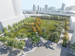 Major works begin on 8,000sqm Fishermans Bend park