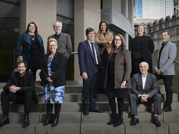 The eleven current members of the NSW Architects Registration Board. Photography: Mine Konakci
