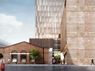 John Wardle Architects' Northumberland development in the Melbourne suburb of Collingwood has received VCAT approval after a drawn-out administrative process. Image: John Wardle Architects