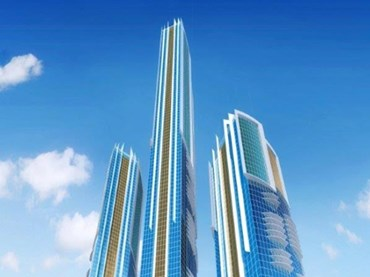 Artist's impression of the 108-storey 'supertower', set to be the tallest in the Southern Hemisphere.