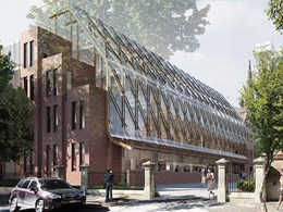 Cascading glass and brick building wins UTS industry hub design