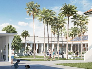 Artist's impression of the proposed Bondi Pavilion redevelopment