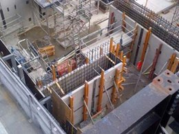 Several precast elements supplied for Victorian Comprehensive Cancer Centre