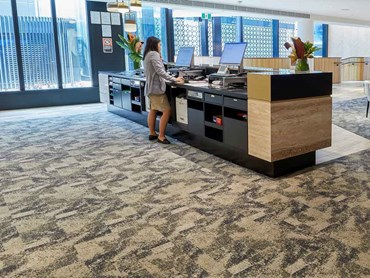Godfrey Hirst designed and supplied a custom carpet