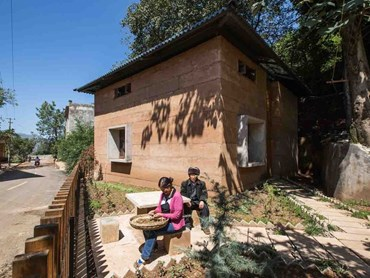 Old becomes new at the Post-Earthquake Reconstruction Demonstration Project of Guangming Village, a house that was named World Building of the Year at the 2017 World Architecture Festival (WAF). Image: Supplied