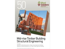 Technical guide for structural engineers working on mid-rise timber buildings