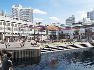 Sydney waterfront to get the artistic edge