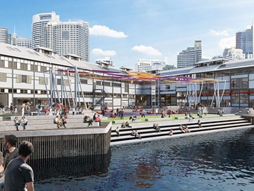 The proposed Walsh Bay arts precinct. Image: Planning NSW