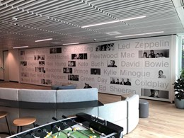 Operable walls installed at Warner Music's Sydney HO