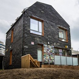 The UK house made entirely from trash