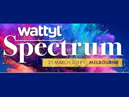 Inviting architects and designers to Wattyl's inaugural Spectrum event