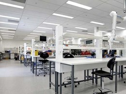 Case study: Armstrong customises acoustic ceiling systems for Westmead research institute by BVN