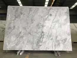 Super White Dolomite benchtops with the Brazilian connection