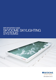 Specification Guide Skydome Skylighting Systems