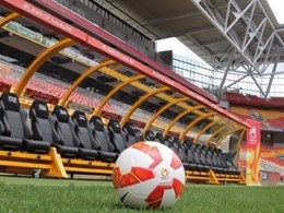 24-seat Players Benches installed at 5 stadiums for AFC Asian Cup Australia 2015