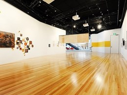 Britton meets timber requirements at new Maroondah City Council art gallery