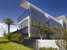 Double standing seam roof an outstanding feature of Collaroy home