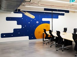 Paragon's digitally printed graphics creating walls of difference