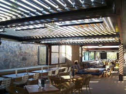 Vergola's operable louvre roofs for outdoor hospitality venues
