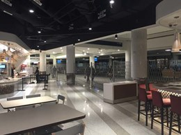 Wolfgang Puck restaurant at LAX airport features ATDC's mobile barriers