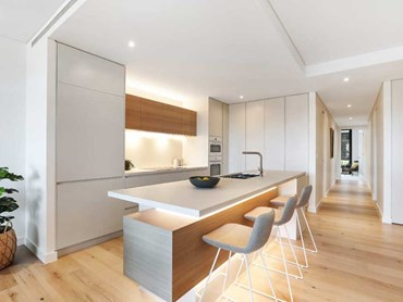 Timber floors are an excellent idea for open plan spaces