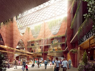 Woods Bagot reveals $400 million Adelaide Central Market Arcade plans