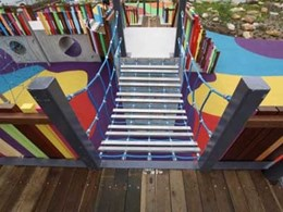 Rosehill TPV rubber wetpour creates kaleidoscope of colours at new Wulaba Park playground