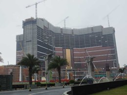 Rondo's drywall framing and trafficable ceiling systems used in Macau's $4.1 billion gaming hub project