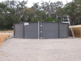 Water tanks supplied to winery to meet bushfire and rainwater requirements