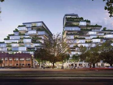 An artist's impression of the plan for 26-56 Queens Parade, North Fitzroy. Photo: FloodSlicer
