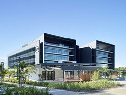Easycraft VJ wall panels minimise maintenance at Youi QLD headquarters