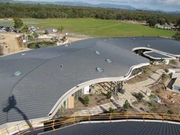 ZC Technical creates sand dune-inspired roof for Byron Bay beach resort