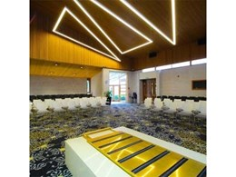 Hawko's Zhaga LED boards in custom fittings create stunning light feature