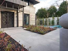 Paving products add personality to impressive South Yarra residence