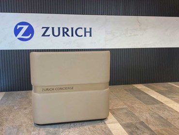 The Mobile Concierge Desk at Zurich Tower