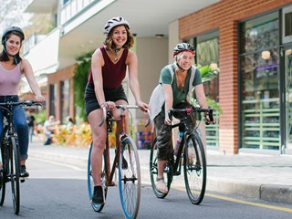 A German study called Urban Emotions provides new insights into how people experience the city emotionally depending on the design of traffic areas, the size and distance of buildings, and the dynamics in a park or on a frequently-used bicycle path. Image: City of Adelaide