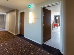 200+ doors get Acrovyn door protection at Pullman Hotel, Sydney