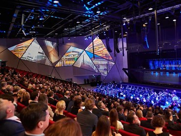 Digilin provided custom lighting solutions for the Adelaide Convention Centre