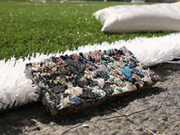 Adidas kicks a goal for sustainability and turns plastic bottles into sports field