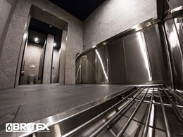 Britex installs 4475mm long L-shape stainless steel urinal for The Albion Hotel