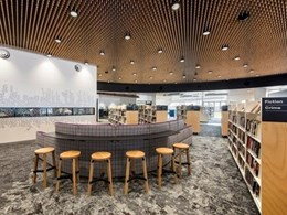 Unique feature ceiling created for Aldinga Library