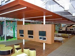 Ultraflex Panelling supplies timber linear ceiling panels and veneer wall panels for new Cerebral Palsy Alliance NSW building