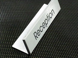 Architectural Modular Series offering fully interchangeable aluminium modular signage