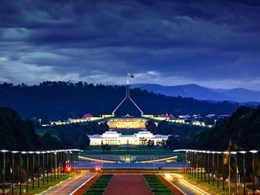Anzac Parade lighting upgraded with 116 LED modules