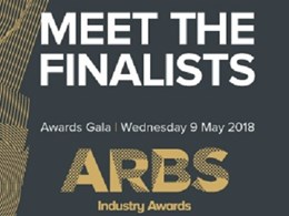 Finalists revealed for ARBS 2018 Industry Awards
