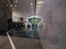 Case Study: Ardex adhesives help install 80 tons of finished stone at Brisbane office tower