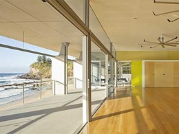 ALSPEC ProGlide commercial sliding doors provide thermal and acoustic performance at Avalon clubhouse