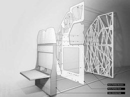 Airbus and Autodesk collaboration helps create world's largest 3D printed airplane cabin component