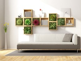 How to green your interiors with a vertical garden wall